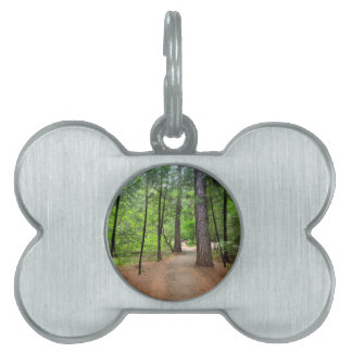 Forest Path Pet Name Tag