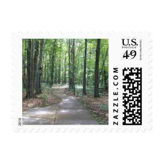 Forest Path Stamps