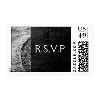 Forest Path R.S.V.P. Postage Stamps