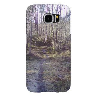 Forest path samsung galaxy s6 case