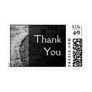 Forest Path Thank You Postage Stamps