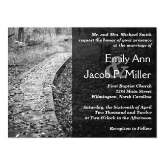 Forest Path Wedding Invitations