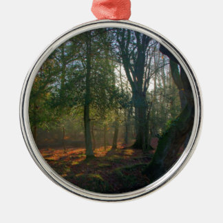 Forest Peace Metal Ornament
