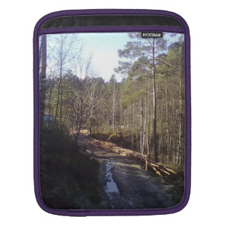Forest photo iPad sleeves