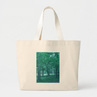 Forest Photo Large Tote Bag