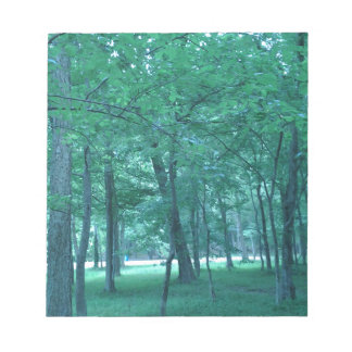 Forest Photo Notepad