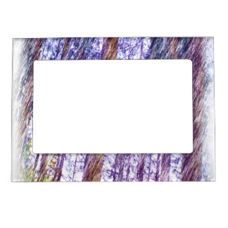 Forest photo paint magnetic frame