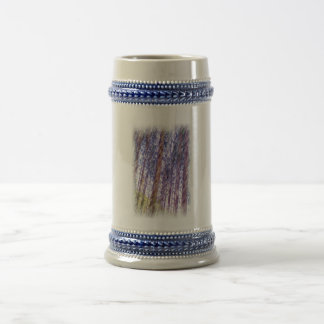 Forest photo paint 18 oz beer stein