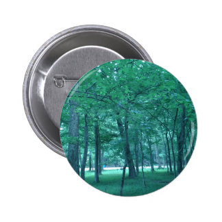 Forest Photo Pinback Button
