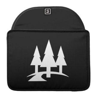 Forest Pictogram MacBook Pro Sleeve