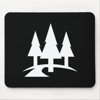 Forest Pictogram Mousepad