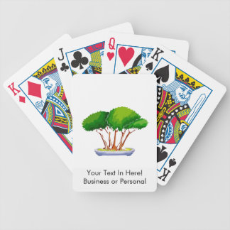 forest planting bonsai graphic green.png bicycle playing cards