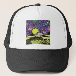 Forest Pond and Tennis Trucker Hat