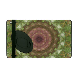 Forest Portal Mandala iPad Folio Case