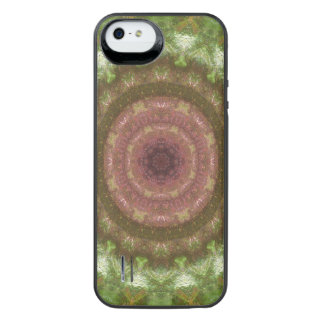 Forest Portal Mandala iPhone SE/5/5s Battery Case
