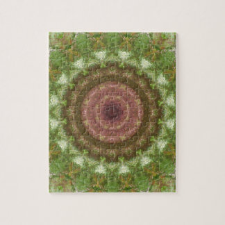 Forest Portal Mandala Jigsaw Puzzle