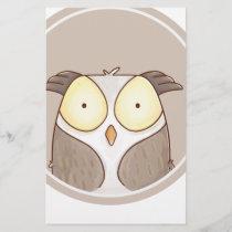 Forest portrait owl