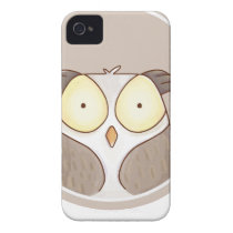 Forest portrait owl iPhone 4 case