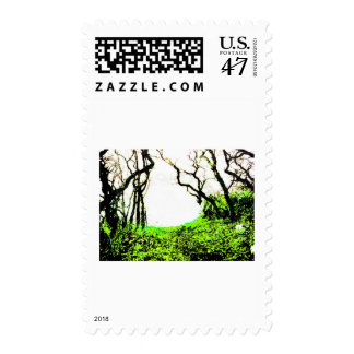 Forest Postage Stamp
