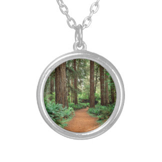 Forest Prairie Redwoods Park Personalized Necklace