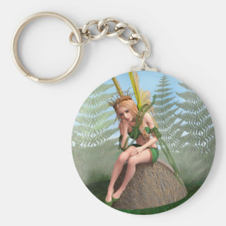 Forest Princess, Fairy Butterfly Keychain