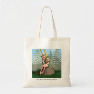 Forest Princess, Fairy Butterfly Tote Bag