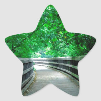Forest Protection Shelter Star Sticker