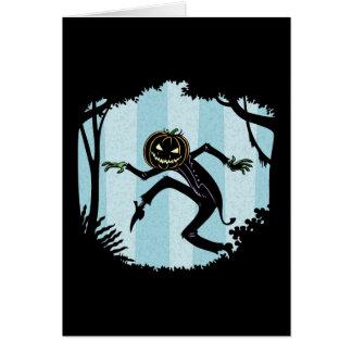 Forest Punkin Man Card