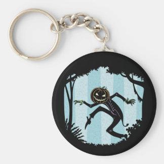 Forest Punkin Man Keychain