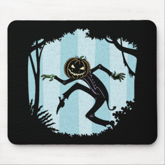 Forest Punkin Man Mouse Pad