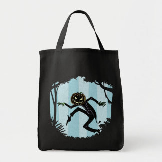 Forest Punkin Man Tote Bag