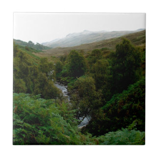 Forest Pure Stream Water Ceramic Tile
