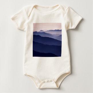 Forest Purple Majesty Sequoia Baby Bodysuit