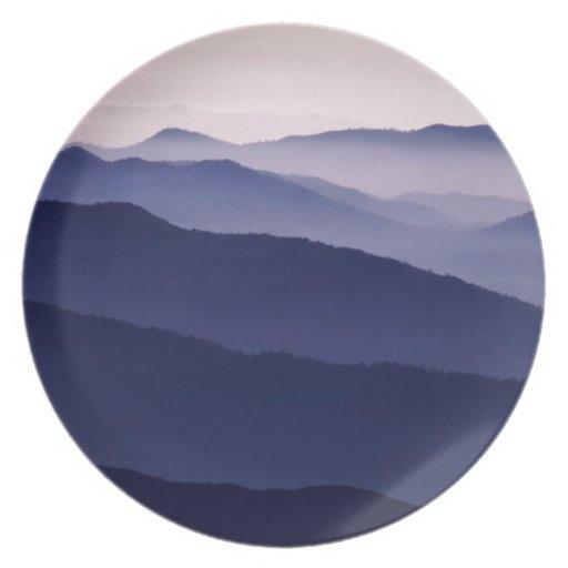 Forest Purple Majesty Sequoia Plates
