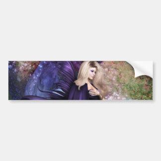 Forest Queen Bumper Sticker