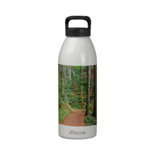 Forest Quiet Trail Columbia River Gorge Water Bottle