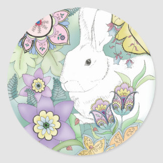 Forest Rabbit sticker
