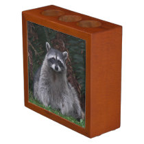 Forest Raccoon Photo Pencil/Pen Holder