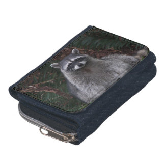 Forest Raccoon Wallet
