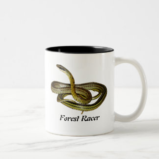 Forest Racer Two-Tone Mug