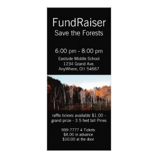 Forest  Rack Card