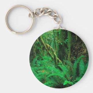 Forest Rain Olympic Key Chain