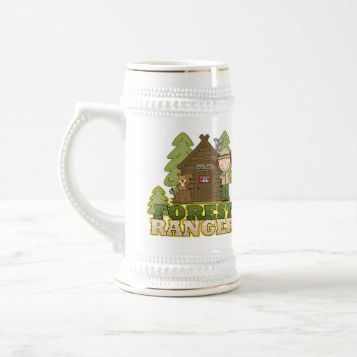Forest Ranger 18 Oz Beer Stein