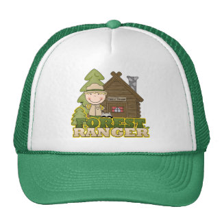 Forest Ranger Boy Tshirts and Gifts Trucker Hat