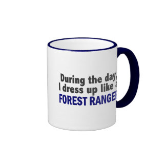Forest Ranger During The Day Mugs