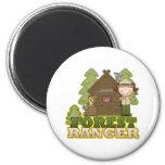 Forest Ranger Fridge Magnet