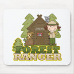Forest Ranger Mouse Pads