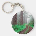 Forest Redwood Keychain