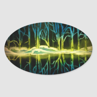 Forest Reflections Stickers