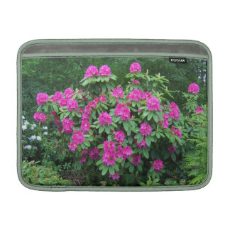 Forest Rhododendron Horizontal Sleeve For MacBook Air